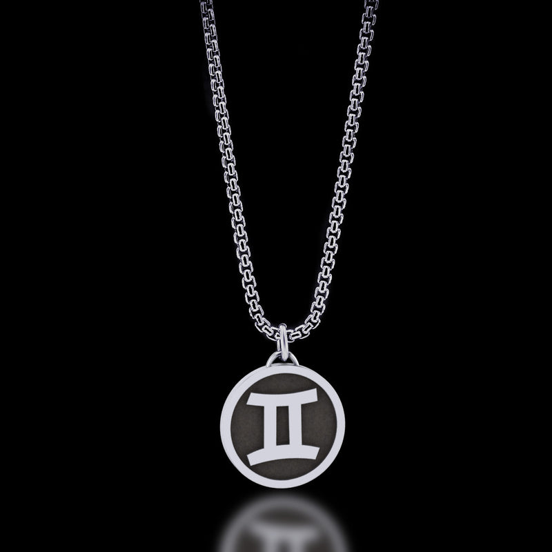 Zodiac - Gemini Necklace - Twisted Love NYC