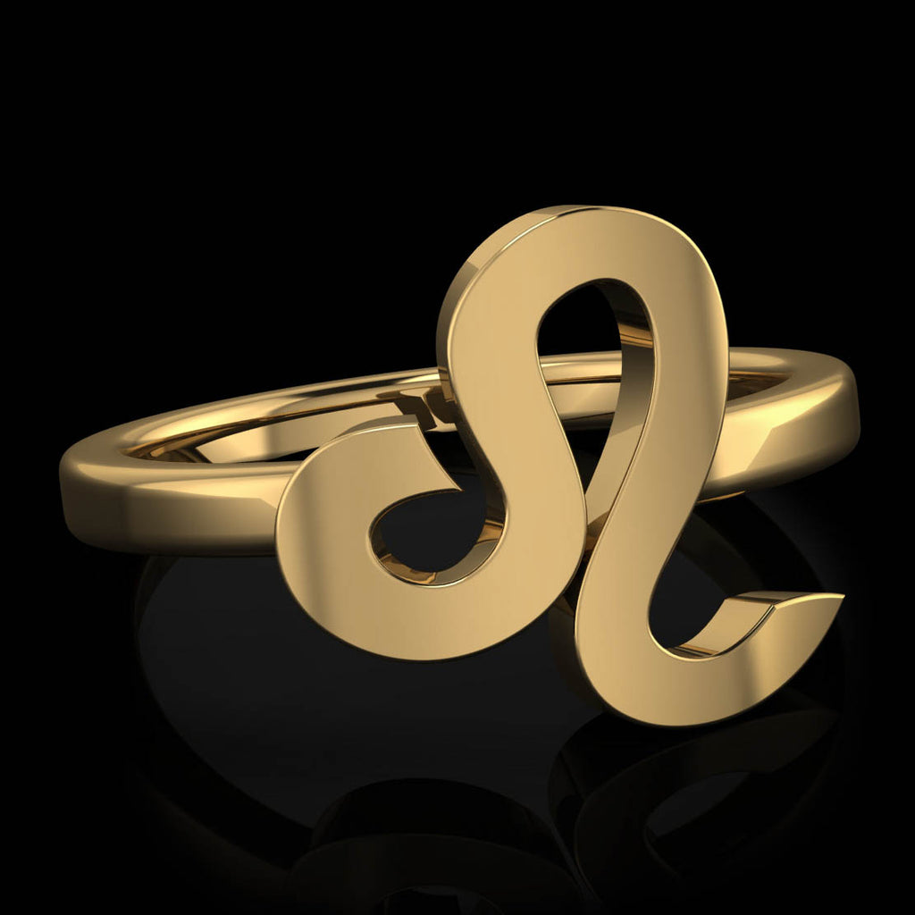 Zodiac Ring - Leo - Twisted Love NYC