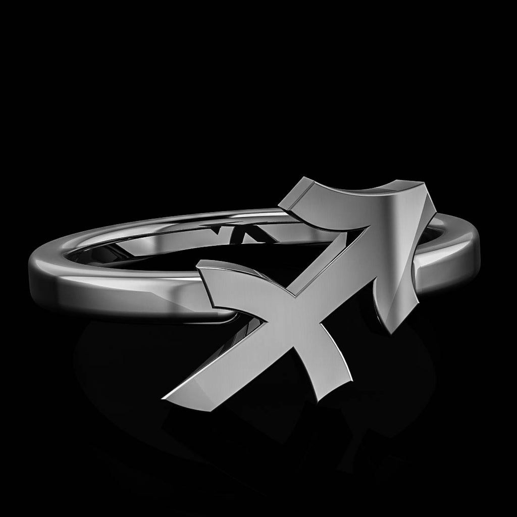Zodiac Ring - Sagittarius - Twisted Love NYC