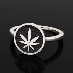 4/20 Limited Edition Dainty Signet Ring - Sterling Silver - Twisted Love NYC