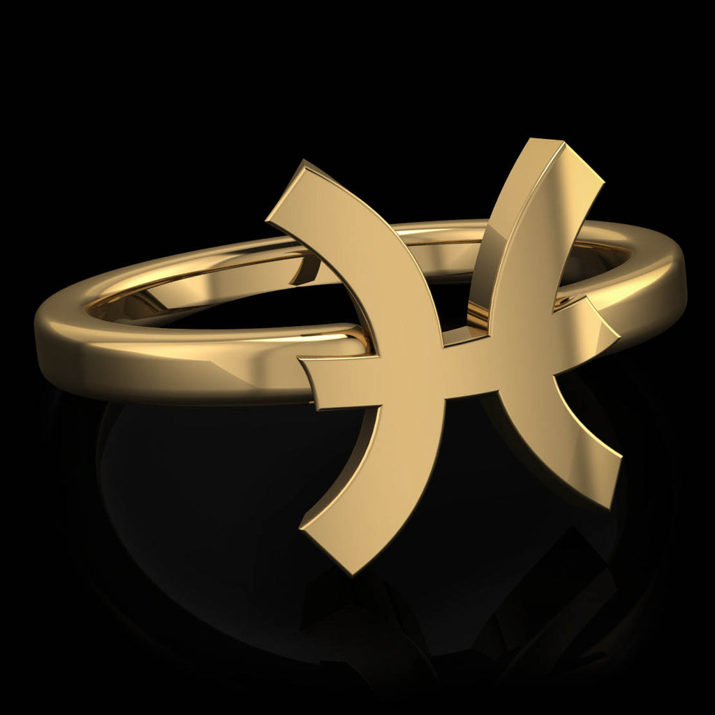 Zodiac Ring - Pisces - Twisted Love NYC