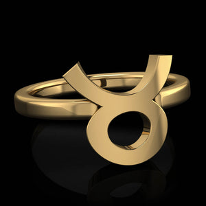 Zodiac Ring - Taurus - Twisted Love NYC