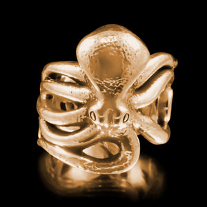 Octopus Ring - Brass - Twisted Love NYC