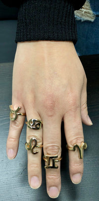 Zodiac Ring - Gemini - Twisted Love NYC