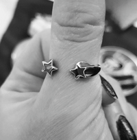 Shooting Star Ring - Sterling Silver - Twisted Love NYC