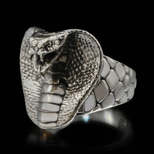 Cobra Head Ring - Sterling Silver - Twisted Love NYC