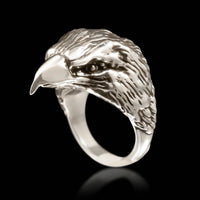 Eagle Head Ring - Sterling Silver - Twisted Love NYC