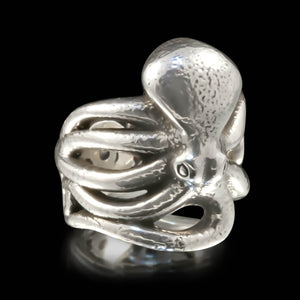 Octopus Ring - Sterling Silver - Twisted Love NYC
