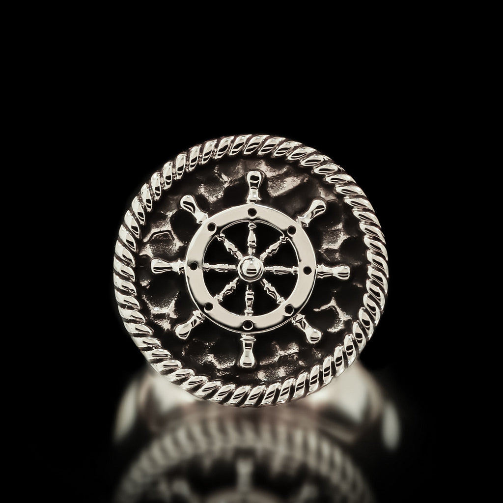 Boat Wheel Ring - Sterling Silver - Twisted Love NYC