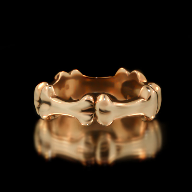 Bone Eternity Band - Brass - Twisted Love NYC