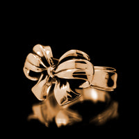 Bow Ring - Brass - Twisted Love NYC