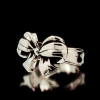 Bow Ring - Sterling Silver - Twisted Love NYC