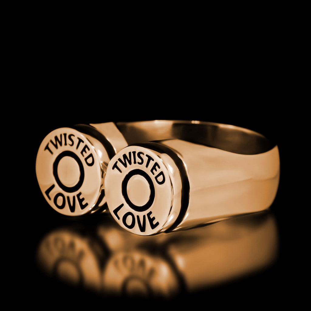 Bullet Ring - Brass - Twisted Love NYC