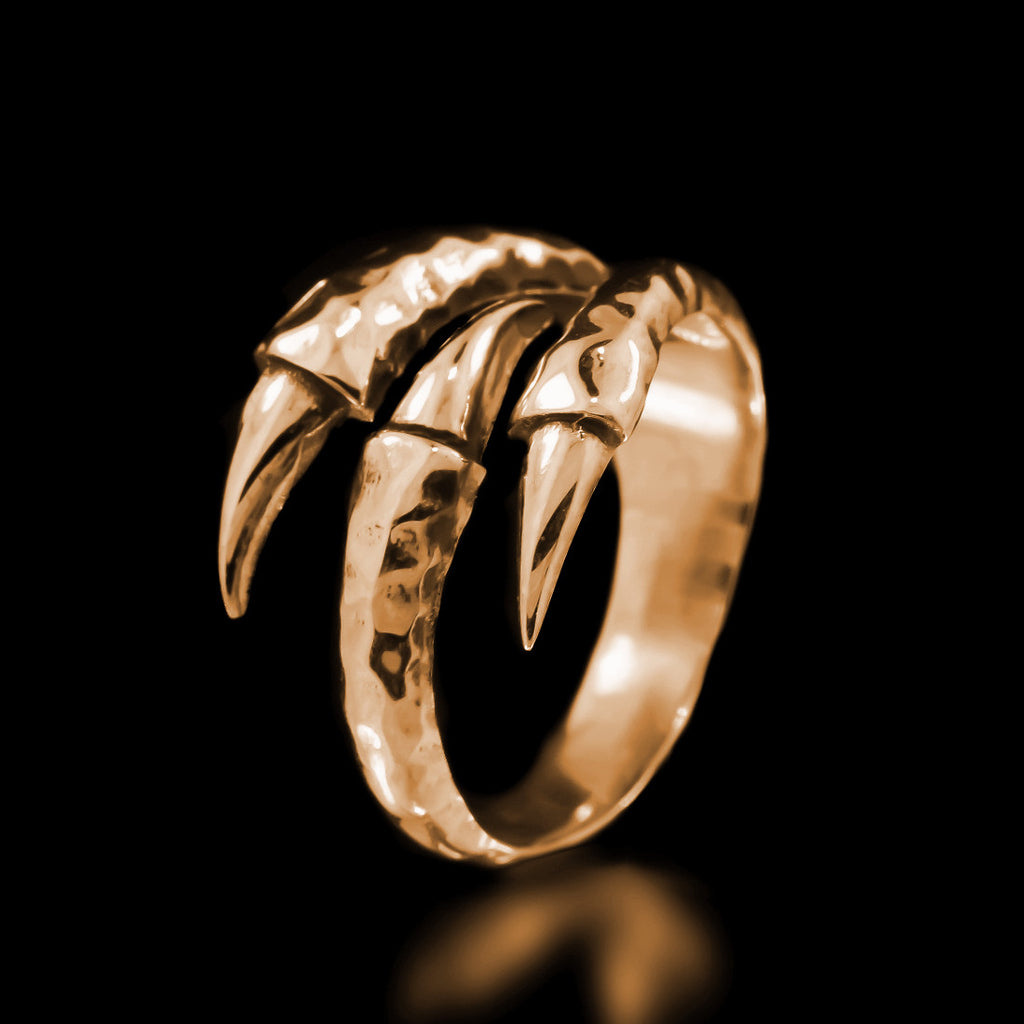 Claw Ring - Brass - Twisted Love NYC