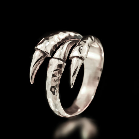Claw Ring - Sterling Silver