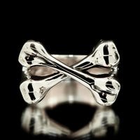 Crossbones Ring - Sterling Silver - Twisted Love NYC
