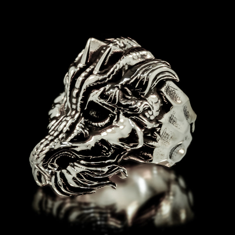 Dragon Ring - Sterling Silver - Twisted Love NYC