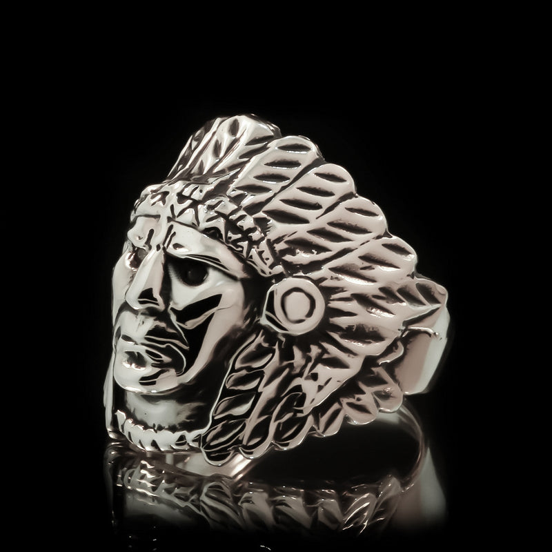Indian Chief Ring - Sterling Silver - Twisted Love NYC
