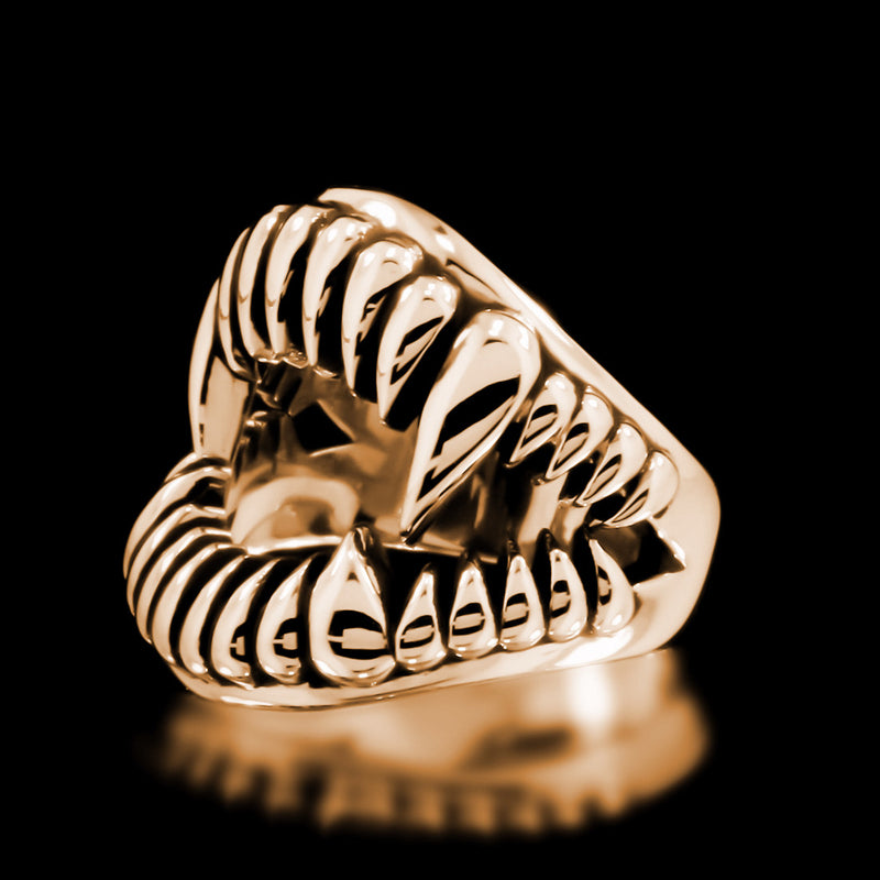 Fang Ring - Brass - Twisted Love NYC