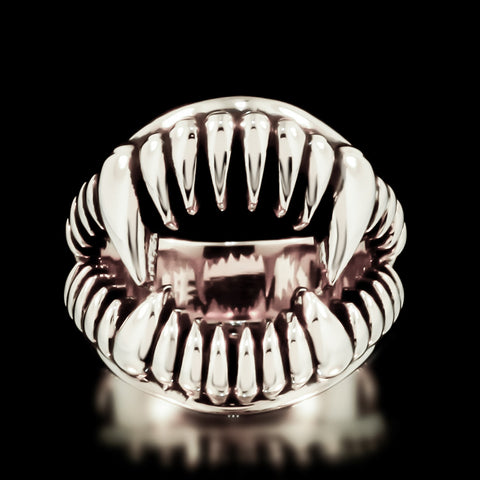 Fang Ring - Sterling Silver