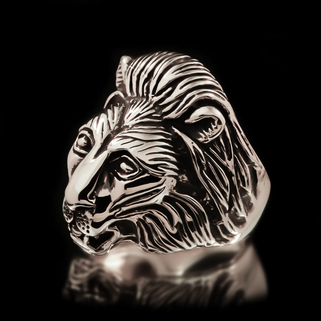Lion Ring - Sterling Silver - Twisted Love NYC