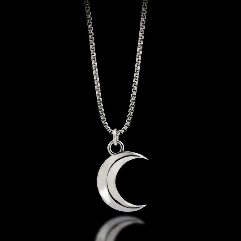 Luna Necklace - Sterling Silver - Twisted Love NYC