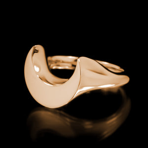 Luna Ring - Brass - Twisted Love NYC