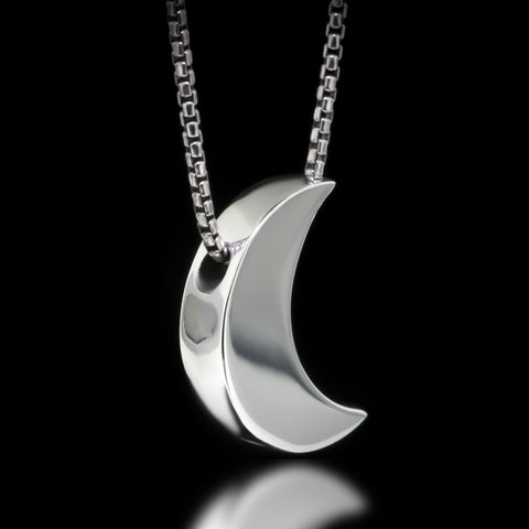 Luna Slider Necklace - Sterling Silver