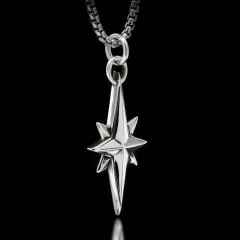 North Star Necklace - Sterling Silver