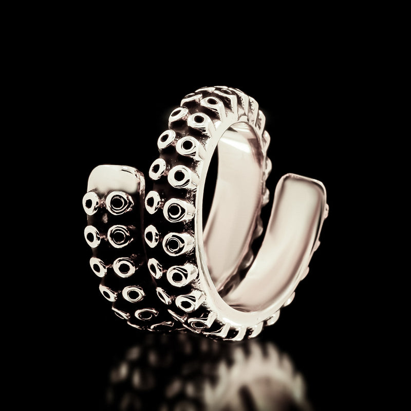 Kraken Tentacle Ring - Sterling Silver - Twisted Love NYC