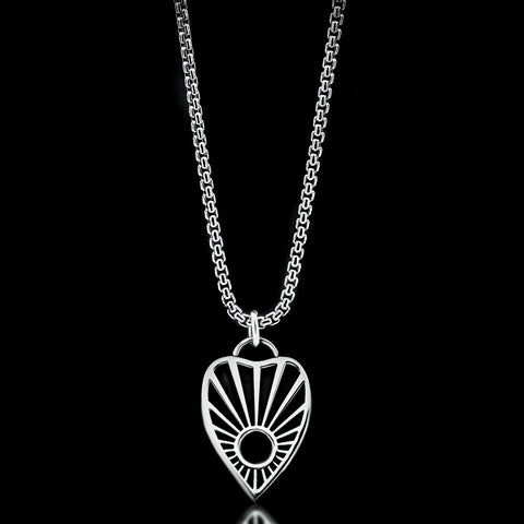 Ouija Necklace - Sterling Silver