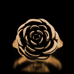 Rose Ring - Brass - Twisted Love NYC