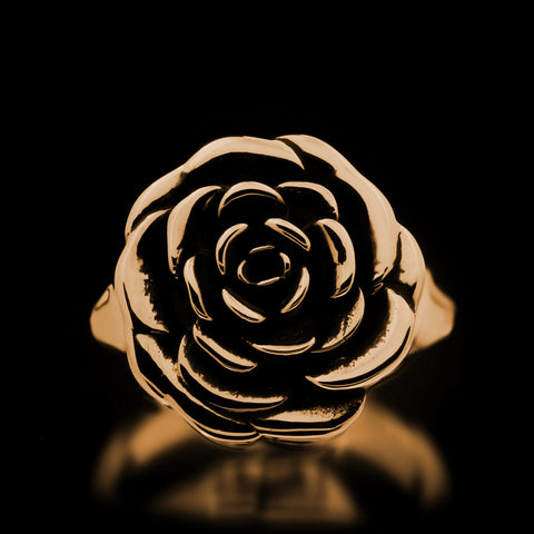 Rose Ring - Brass