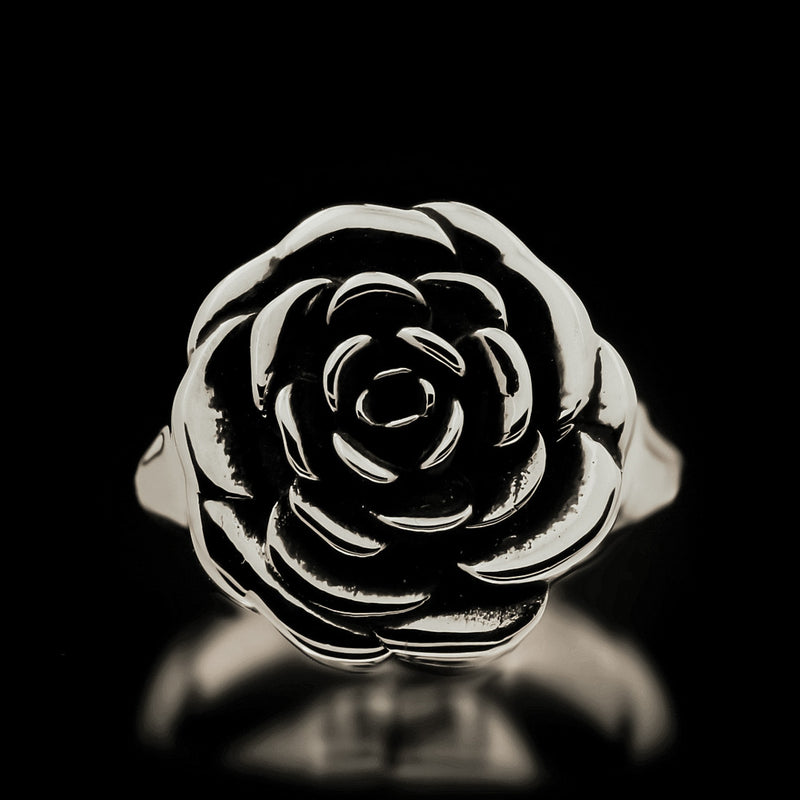 Rose Ring - Sterling Silver - Twisted Love NYC