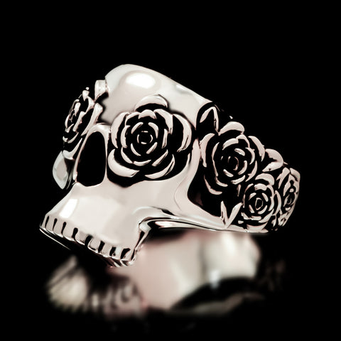 Frida Skull Ring - Sterling Silver