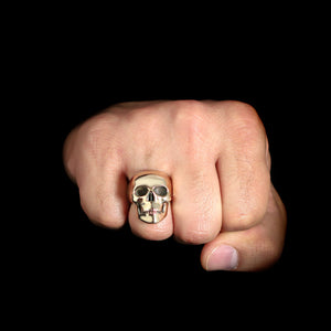 Classic Skull Ring - Sterling Silver - Twisted Love NYC