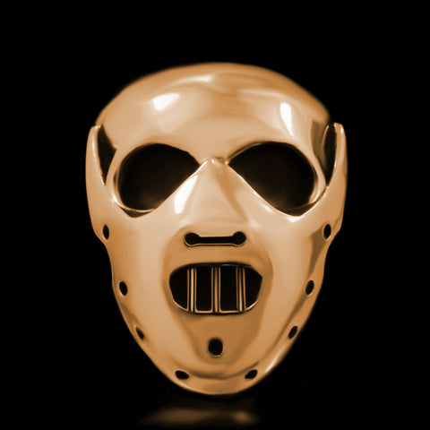 Hannibal Skull Ring - Brass