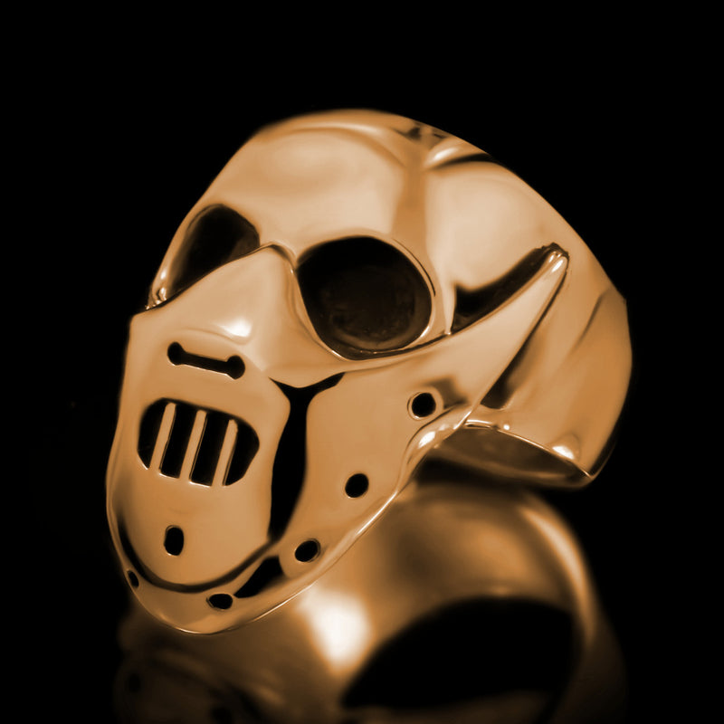 Hannibal Skull Ring - Brass - Twisted Love NYC