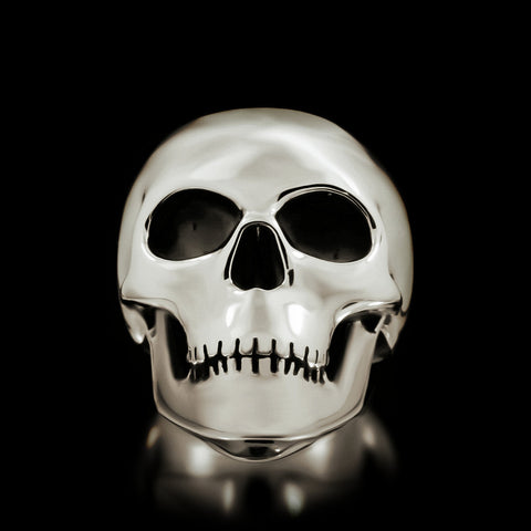 Classic Skull Ring - Sterling Silver