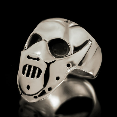 Hannibal Skull Ring - Sterling Silver