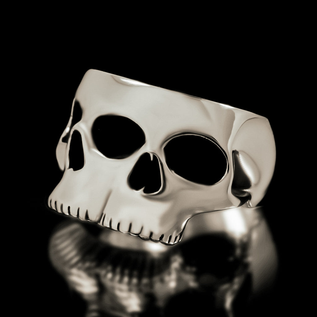 Siamese Skull Ring - Sterling Silver - Twisted Love NYC
