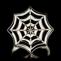 Spider Web Ring - Sterling Silver - Twisted Love NYC