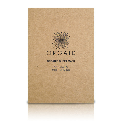 ORGAID Sheet Mask - Anti-Aging & Moisturizing Front view box