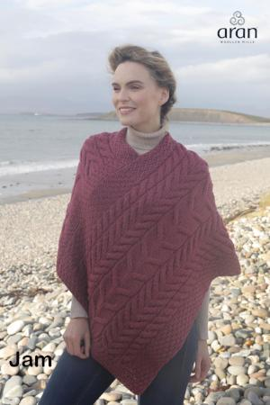 ARAN CAPES and PONCHOS