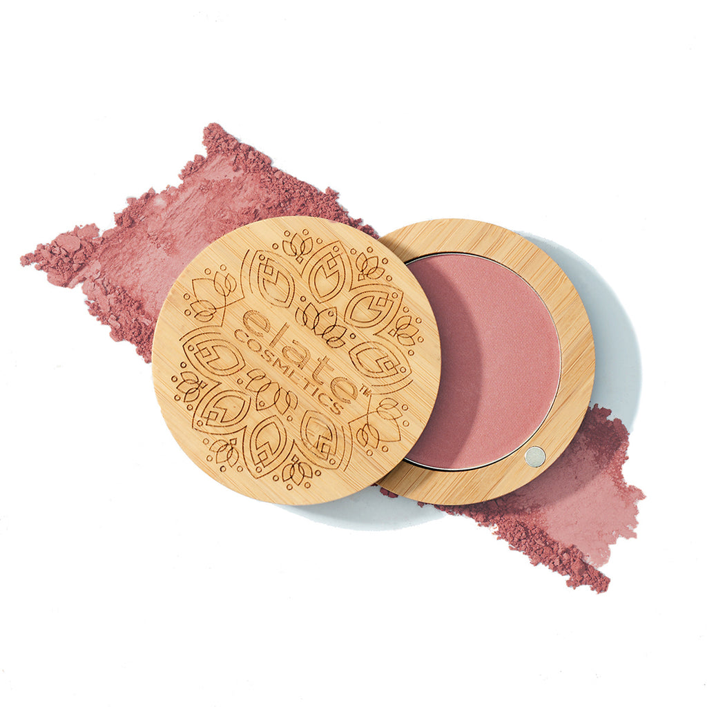 Elate Cosmetics - Pressed Cheek Colour in Brave clean natural cruelty free sustainable