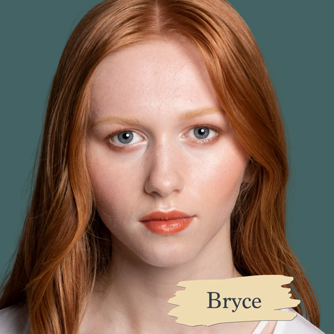 SAPPHO Essential Foundation Bryce: Very pale with slightly yellow undertone, natural, cruelty free clean made in canada