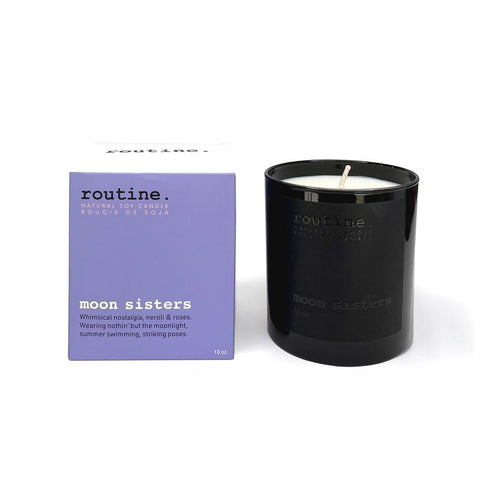 Routine - Candle - Moon Sisters Vegan, phthalate, paraben-free, and synthetic musk-free, made in canada