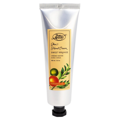 Pure Anada PERSONAL CARE:  Shea Hand Cream - Sweet Orange