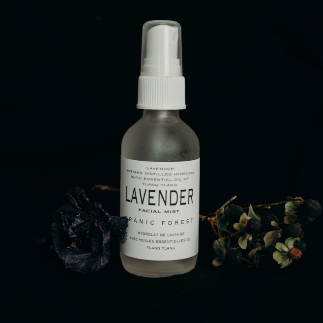 Pranic Forest - Facial Mist - Lavender  Made in Canada clean beauty vegan botanical