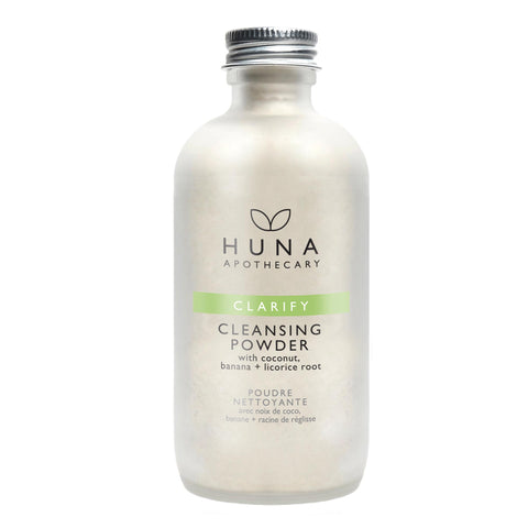 Huna Clarify Cleansing Powder Natural, Clean, Cruelty Free, Made in Canada